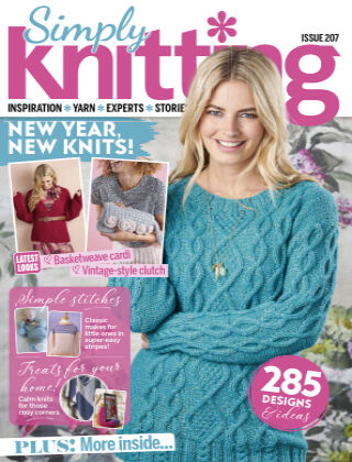 Simply Knitting Issue207