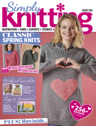 Simply Knitting Issue208