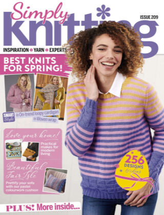 Simply Knitting Issue209