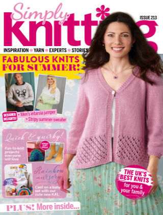 Simply Knitting Issue213