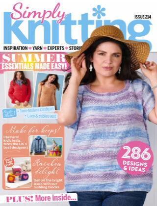 Simply Knitting September