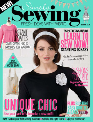 Simply Sewing Issue 1