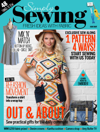 Simply Sewing Issue 8