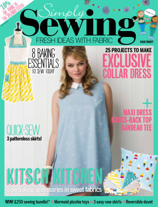 Simply Sewing Issue 20
