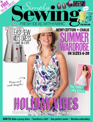 Simply Sewing Issue 29