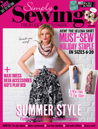 Simply Sewing Issue 30
