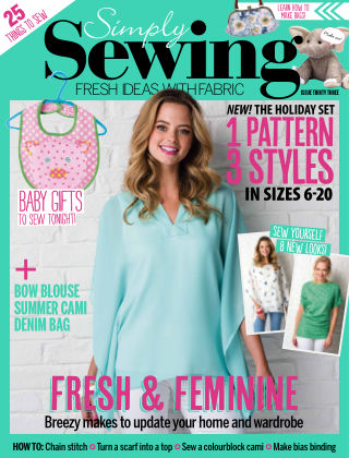 Simply Sewing Issue 33
