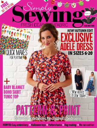 Simply Sewing Issue 34