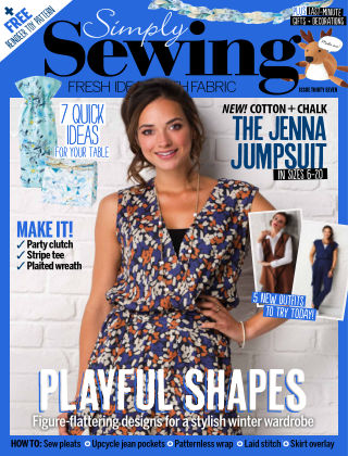 Simply Sewing Issue 37