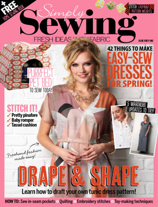 Simply Sewing Issue 41