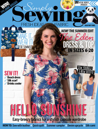 Simply Sewing Issue 43