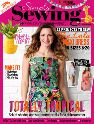 Simply Sewing Issue 44
