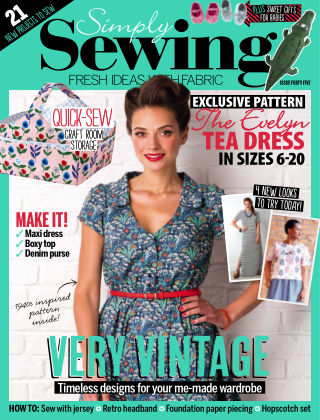 Simply Sewing Issue 45