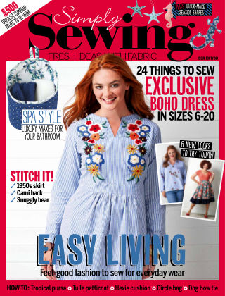 Simply Sewing Issue 46