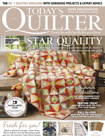 Today's Quilter June 13, 2019 00:00