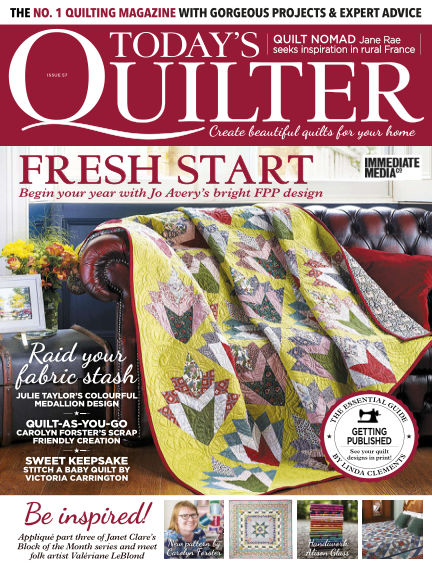 Today's Quilter December 24, 2019 00:00