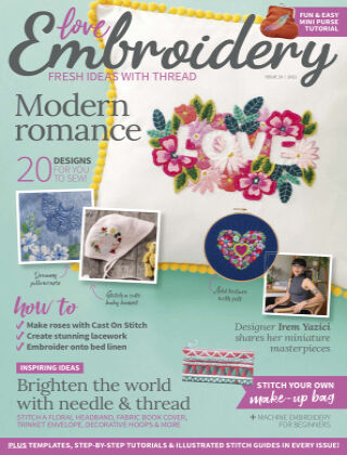 Love Embroidery Issue10