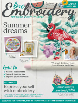 Love Embroidery Issue13