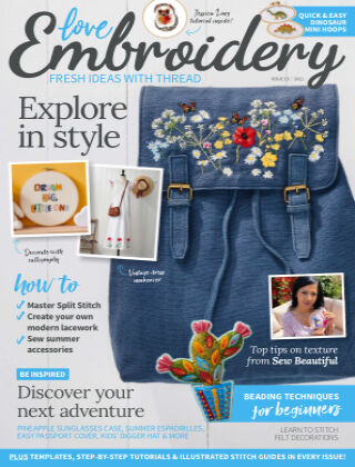 Love Embroidery Issue15