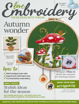Love Embroidery Issue18