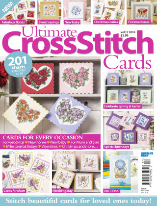 Ultimate Cross Stitch Specials Cards2018
