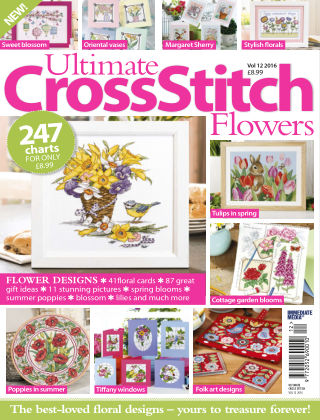 Ultimate Cross Stitch Specials Cross Stitch Flowers