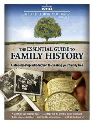 Who Do You Think You Are? Specials GuideToFamilyHistory