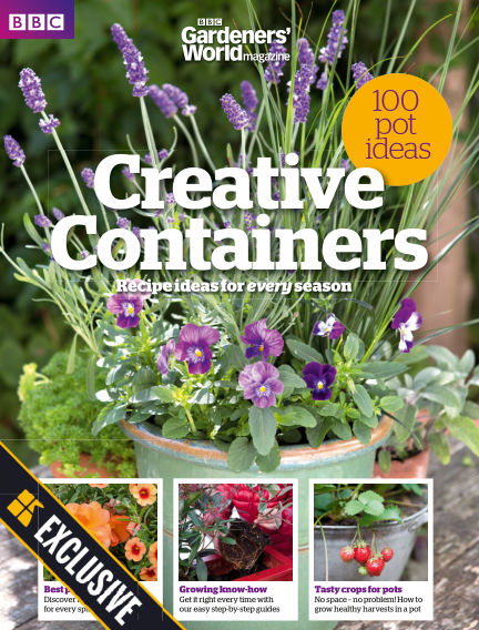 BBC Gardeners World: Creative Containers - Readly Exclusive