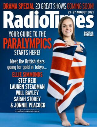 Radio Times 21-27th Aug 2021