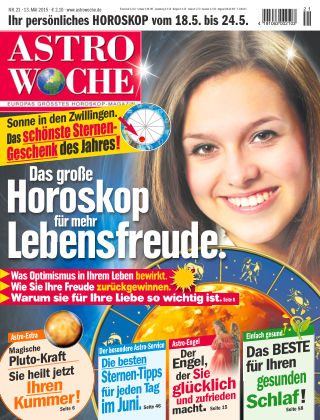 Astrowoche NR.21 2015