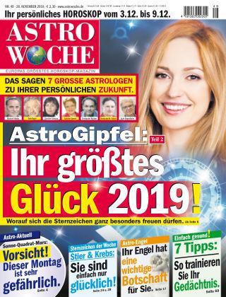 Astrowoche NR.49 2018