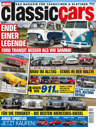 Auto Zeitung Classic Cars NR.10 2014