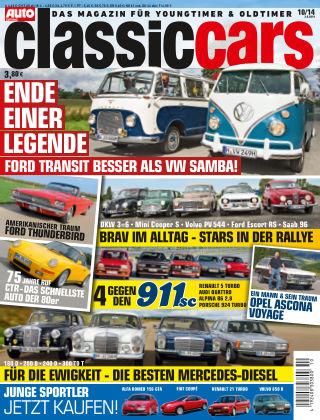 Auto Zeitung Classic Cars NR.10 2014