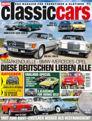 Auto Zeitung Classic Cars NR.9 2014