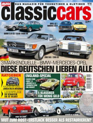 Auto Zeitung Classic Cars NR.9 2014
