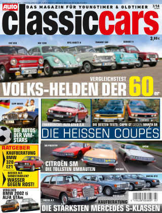 Auto Zeitung Classic Cars NR.7 2014