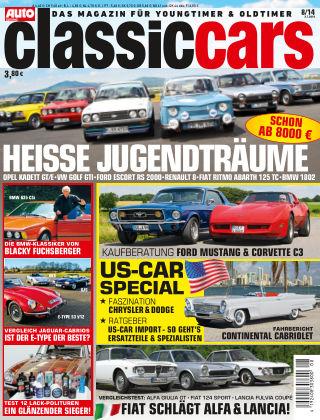 Auto Zeitung Classic Cars NR.8 2014
