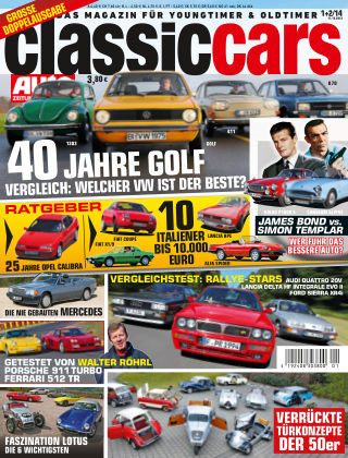 Auto Zeitung Classic Cars NR.1 2014