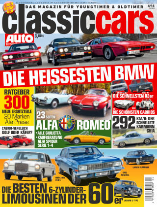 Auto Zeitung Classic Cars NR.4 2014