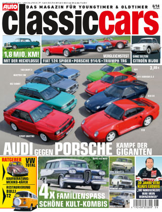Auto Zeitung Classic Cars NR.6 2014