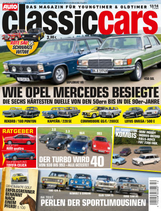 Auto Zeitung Classic Cars NR.12 2014