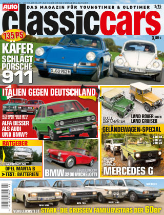 Auto Zeitung Classic Cars NR.2 2015