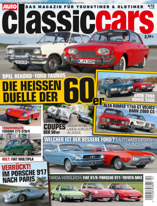 Auto Zeitung Classic Cars NR.4 2015
