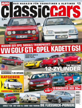 Auto Zeitung Classic Cars NR.5 2015