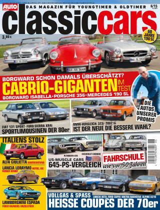 Auto Zeitung Classic Cars NR.6 2015