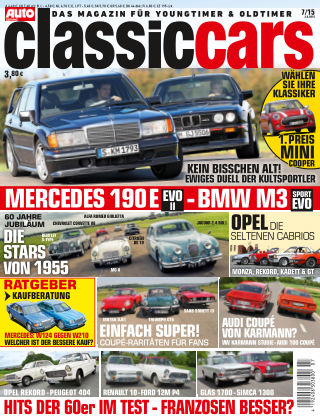 Auto Zeitung Classic Cars NR.7 2015