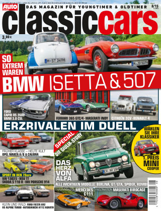 Auto Zeitung Classic Cars NR.8 2015