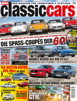 Auto Zeitung Classic Cars NR.3 2015