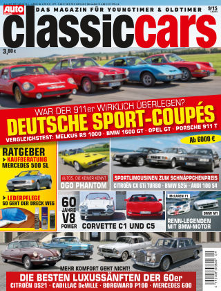 Auto Zeitung Classic Cars NR.9 2015