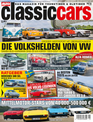 Auto Zeitung Classic Cars NR.10 2015